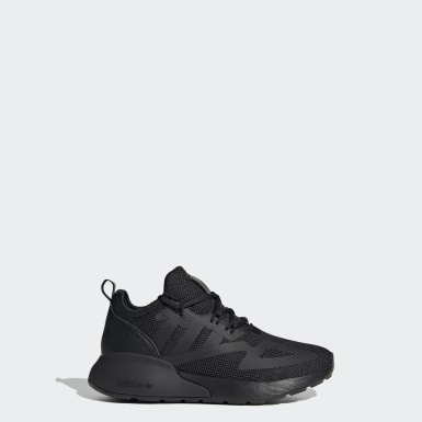 Children Originals Black ZX 2K Shoes