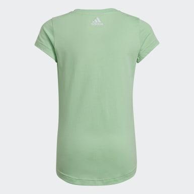 T-shirt Graphic Vert Filles Training