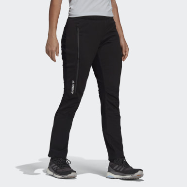 Women TERREX Black Terrex Skyrunning Solid Pants