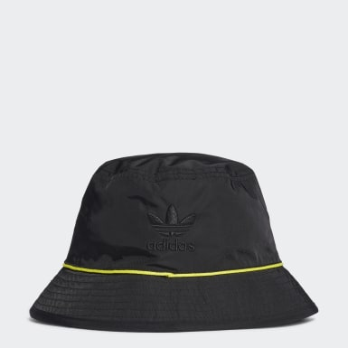 Gorro Bucket Negro Mujer Originals