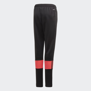 Pantalón Must Haves AEROREADY 3 bandas Negro Niño Training