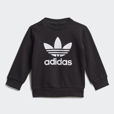 Kinderen Originals zwart Sweatshirt Setje