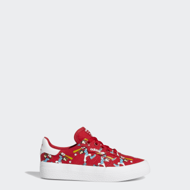 Kids 4-8 Years Originals Red 3MC x Disney Sport Goofy Shoes
