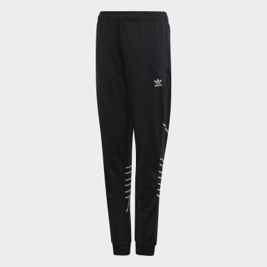 Large Trefoil Tracksuit Bottoms