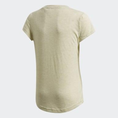 T-shirt Must Haves Jaune Filles Athletics