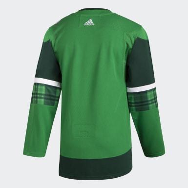 Maillot Maple Leafs St. Patrick's Day Authentique Pro multicolore Hommes Hockey