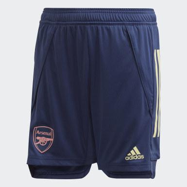 Pantalón corto entrenamiento Arsenal Azul Niño Fútbol
