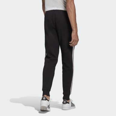 Herr Originals Svart Adicolor Classics 3-Stripes Pants