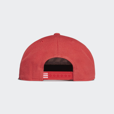 Gorra Snapback Logo Rojo Training