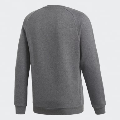 Sweat-shirt Core 18 Gris Hommes Training