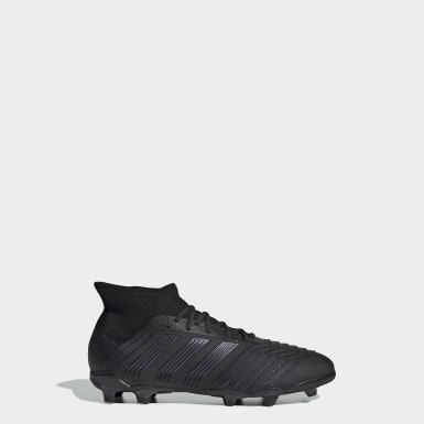 Chaussure Predator 19.1 Terrain souple Noir Enfants Football