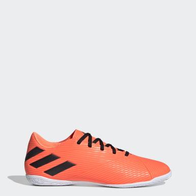 Soccer Orange Nemeziz 19.4 Indoor Shoes