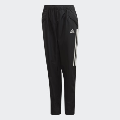 Youth 8-16 Years Football Black Condivo 20 Presentation Tracksuit Bottoms