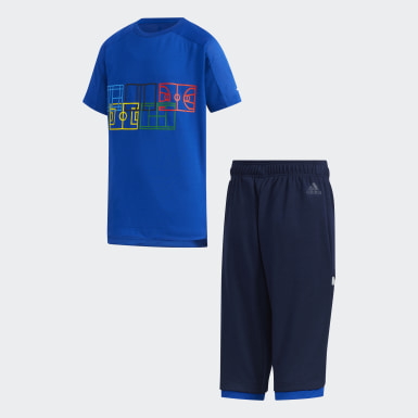 Boys Lifestyle Blue Summer Set