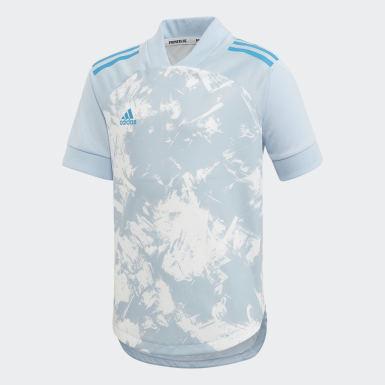 Kinderen Training Blauw Condivo 20 Primeblue Voetbalshirt