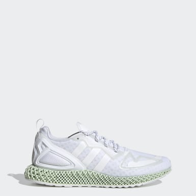Men's Originals White ZX 2K 4D Shoes