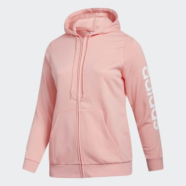 Essentials Hooded Track Top (Sizes 1X - 4X)