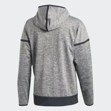 Men Athletics Grey adidas Z.N.E. Reversible Hoodie