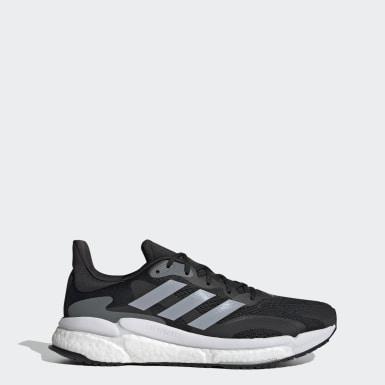 Sapatos SolarBoost 3 Preto Homem Running