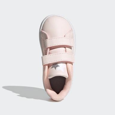 Infants Sport Inspired สีชมพู รองเท้า Advantage