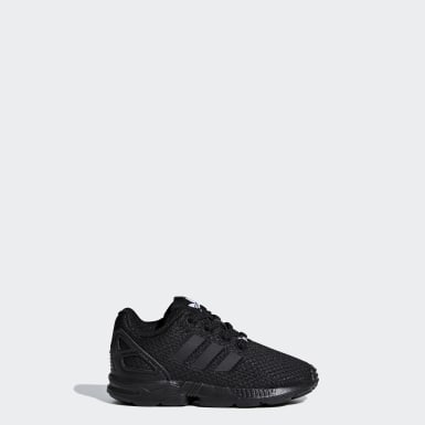 Zapatillas ZX Flux Negro Niño Originals