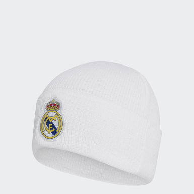 Voetbal wit Real Madrid Beanie