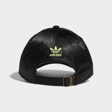 Women's Originals Black Strap-Back Relaxed Hat