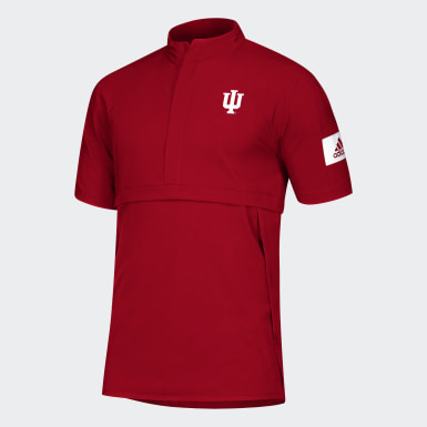 Men's Athletics Multicolor Hoosiers Game Mode Polo Shirt