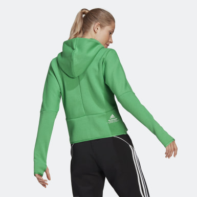 Women Athletics Green adidas Z.N.E. Hoodie