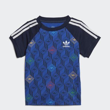 Děti Originals modrá Tričko