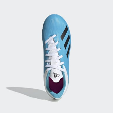 Chuteira X 19.4 - Futsal Azul Meninos Futebol