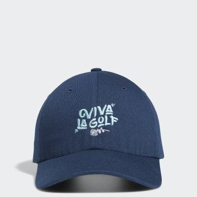 Casquette Viva La Golf Bleu Femmes Golf
