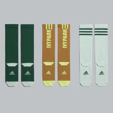 Chaussettes Logo (3 paires) Vert Originals