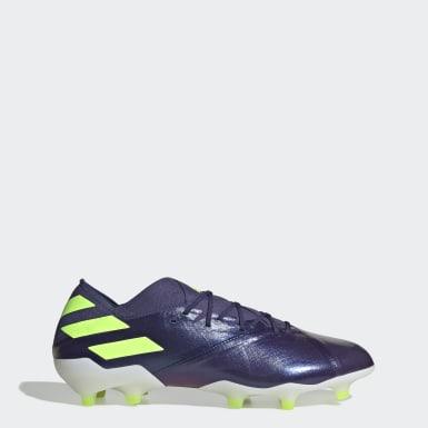 Chaussure Nemeziz Messi 19.1 Terrain souple Bleu Football