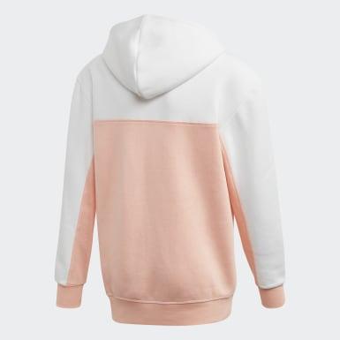 Sweat-shirt à capuche Rose Garçons Originals