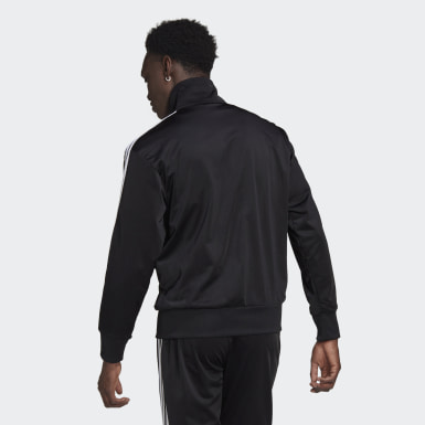 Men Originals Black Adicolor Classics Firebird Track Jacket