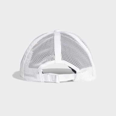 Training White Mesh Baseball Cap