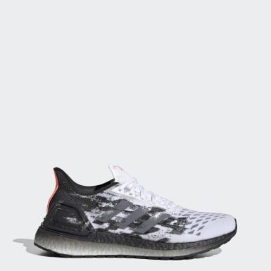 Women Running White Ultraboost PB Shoes