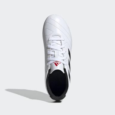 Calzado de Fútbol Goletto VII Terreno Firme Blanco Niño Fútbol
