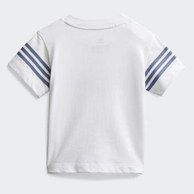 Outline T-skjorte Hvit