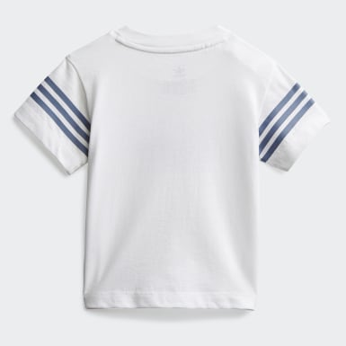 T-shirt Outline Blanc Enfants Originals