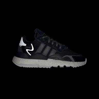 เด็ก Originals สีดำ รองเท้า Nite Jogger