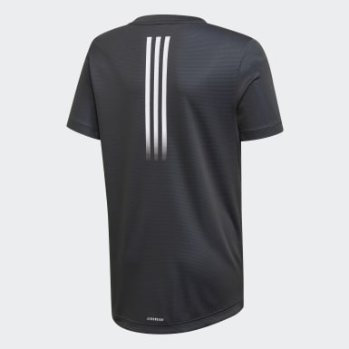 Camiseta AEROREADY Negro Niño Training