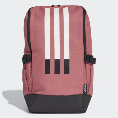 Training Burgundy 3-Stripes Response Backpack