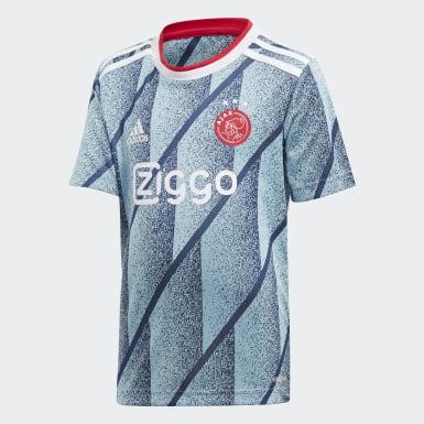 Kinder Fußball Ajax Mini-Auswärtsausrüstung Blau