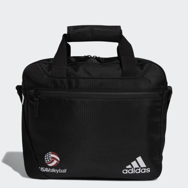 Volleyball Black USA Volleyball Stadium Coaches Messenger Bag