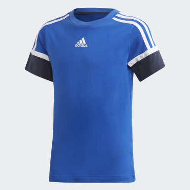 Camiseta Bold Azul Niño Training