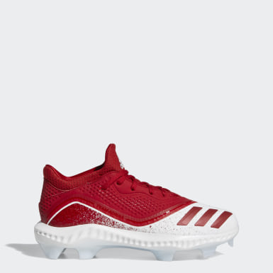 Women's Softball Red Icon V Bounce TPU Cleats