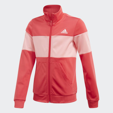 Youth Sport Inspired Pink Track Suit