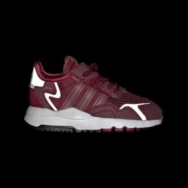 Sapatos Nite Jogger Bordô Criança Originals